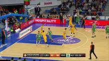 Davis Bertans, three-pointer