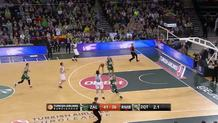 Sergio Llull (Madrid) buzzer beating three