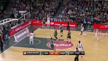 Andres Nocioni (Madrid) three-pointer