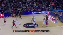 Stratos Perperoglou, layup in transition