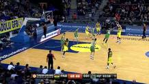 Datome's three-pointer