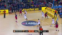 Tomas Satorasky, three-pointer
