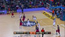 Pau Ribas, three-pointer