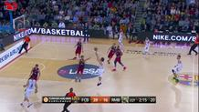 Jeffery Taylor block ---> Llull three-pointer