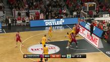Radosevic with a put-back
