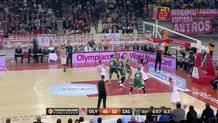 Vangelis Mantzaris, one-handed jumper in the lane
