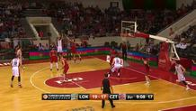 Marko Guduric (CZvezda) three-pointer