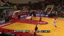 Victor Claver (Lokomotiv) steal and slam