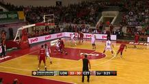 Dontaye Draper (Lokomotiv) three-pointer
