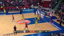 James White (Cedevita) assist
