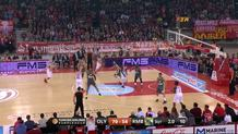 Vangelis Mantzaris, three-pointer