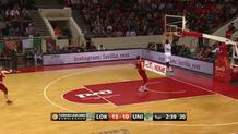 Nemanja Nedovic, fast break dunk.