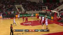 Kenan Karahodzic, three-pointer.