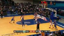 Alexey Shved (Khimki) three-pointer