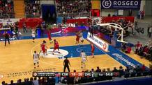 Olivier Hanlan (Zalgiris) three-pointer
