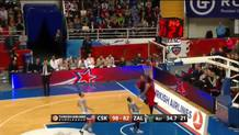 Nikita Kurbanov (CSKA) steal and slam