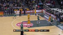 Kaspars Vecvagars, three-pointer