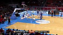 Thomas Heurtel (Efes) basket plus foul