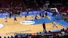 Dario Saric (Efes) blocked shot
