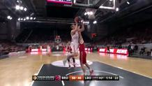 Blazic's effort three-point play