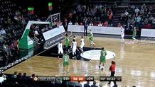 Scottie Wilbekin (Darussafaka) three-pointer