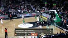 Victor Claver (Lokomotiv ) three-pointer