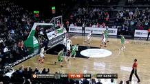 EnderArslan -> Furkan Aldemir (Darussafaka) pick-and-roll slam