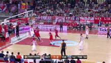 Ioannis Papapetrou, left-handed layup