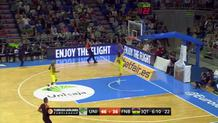 Arna's steal and dunk