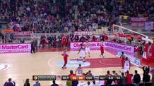 Nando de Colo, second free throw made + end of game