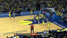 Bogdan Bogdonovic (Fenerbahce) three-pointer