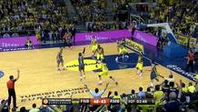 Rudy Fernandez (Madrid) three-pointer