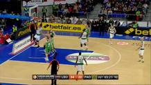 Miroslav Raduljica (Panathinaikos) put-back slam