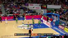 James Gist (Panathinaikos) alley-oop