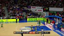 Elliot Williams (Panathinaikos) layup at buzzer
