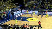 Melih Mahmutoglu(Fenerbahce) three-pointer