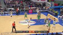 Dimitris Diamantidis (Panathinaikos ) three