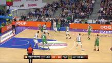 Darius Adams (Laboral) three-pointer