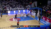 Luigo Datome (Fenerbahce) three-pointer