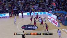 Anthony Randolph (Lokomotiv) alley-oop
