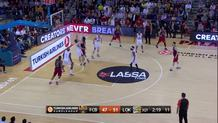 Alex Abrines (Barcelona) floater