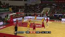 Malcolm Delaney (Lokomotiv) three-pointer
