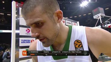 Post-Game Interview: Adrian Moerman ,Darussafaka Dogus Istanbul