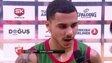 Post-Game Interview: Shane Larkin, Baskonia Vitoria Gasteiz