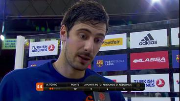 Post-Game Interview: Ante Tomic, FC Barcelona Lassa