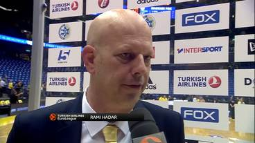 Post-Game Interview: Rami Hadar, Maccabi FOX Tel Aviv