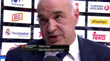 Post-Game Interview: Pablo Laso, Real Madrid