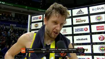 Post-Game Interview: Jan Vesely, Fenerbahce Istanbul