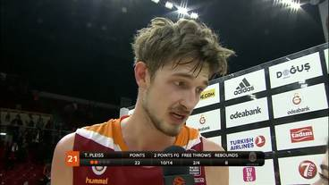 Post-Game Interview: Tibor Pleiss, Galatasaray Odeabank Istanbul