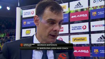 Post-Game Interview: Georgios Bartzokas, FC Barcelona Lassa